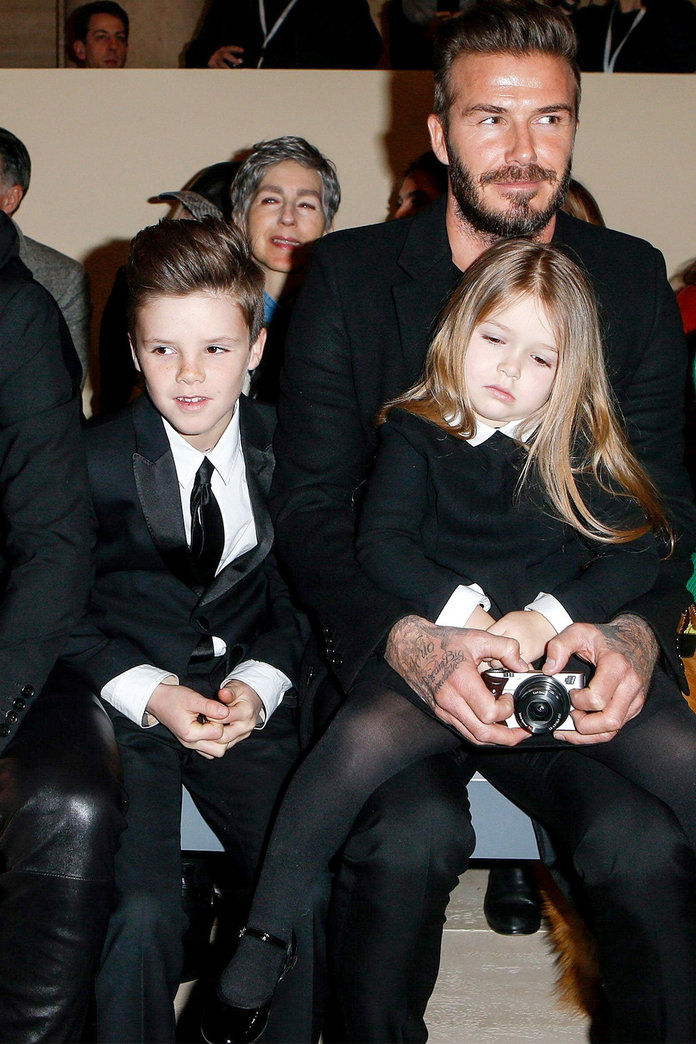 Harper Beckham's Hair And Icicle Couture: It's Our First Day At New York Fashion Week