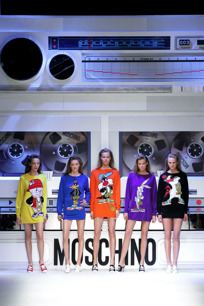 Looney Toons At Moschino And Furry Trousers At Fendi: That's Day 2 At MFW For You...