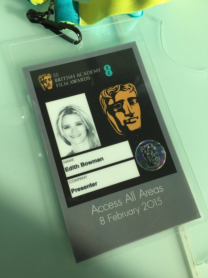 Edith Bowman Shows Us How She Gets Ready For The BAFTAs