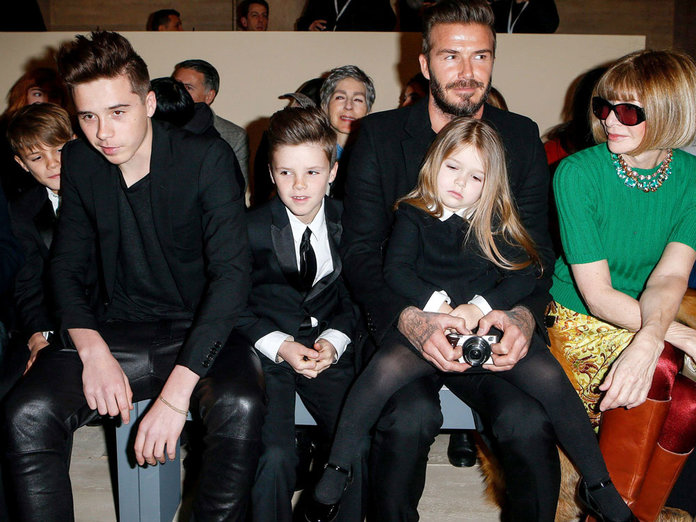 The Beckhams Steal The Show Once Again At New York Fashion Week