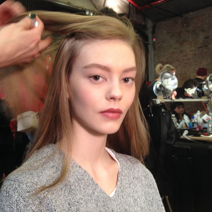 Matte Lips Are The Way Forward At NYFW, So Say Goodbye To The Shine