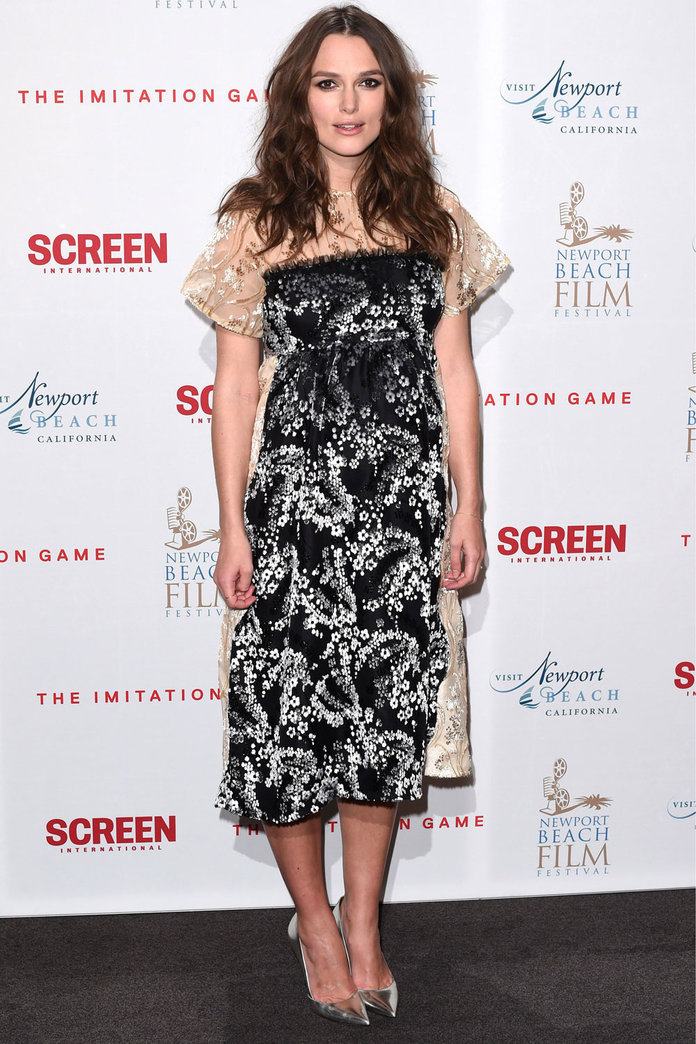 Keira Knightley Just Rocked Another Amazing Maternity Look