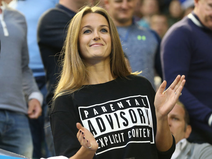 Kim Sears Let Her Outfit Do The Talking At The Australian Open Final