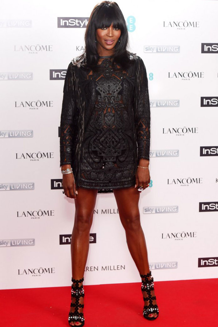Naomi Campbell's Make-Up Artist Tells Us How To Get Her InStyle BAFTA Party Look