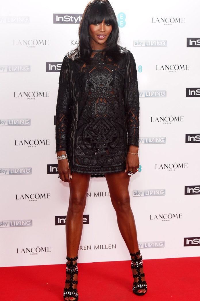 Naomi Campbell Steals The Show At The InStyle BAFTA Party