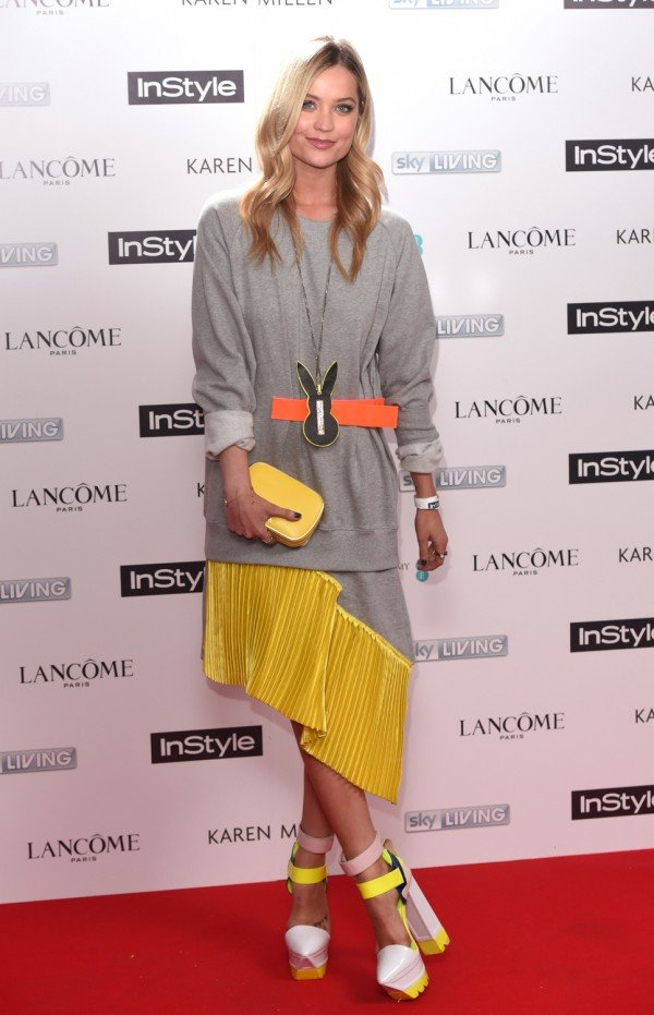 You NEED To See The Incredible Heels Laura Whitmore Wore To The InStyle BAFTA Party