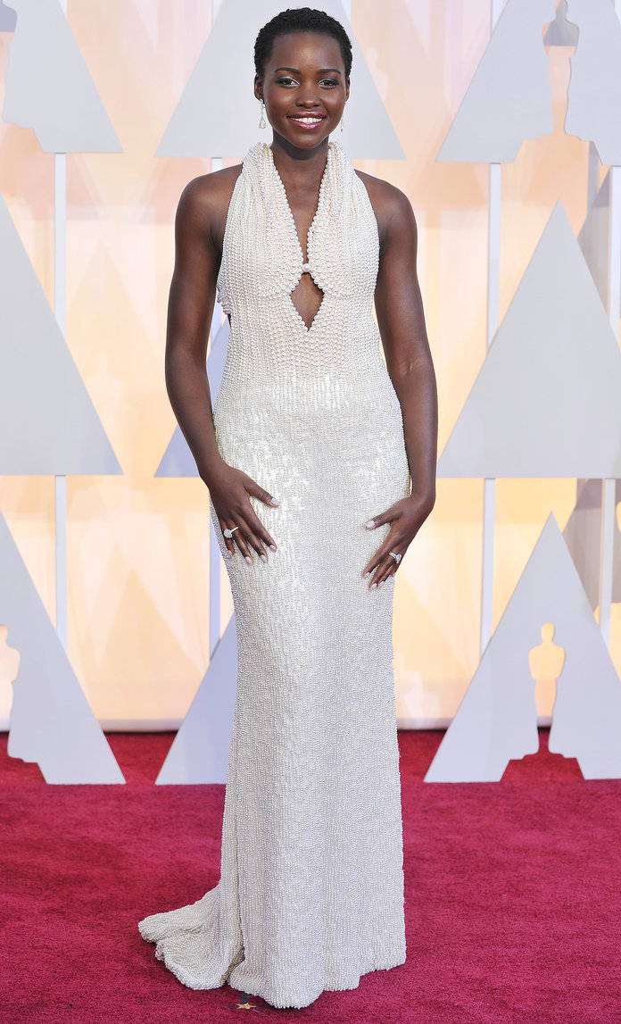 Lupita Nyong'o's Stunning [And Very Expensive] Oscars Dress Has Been STOLEN