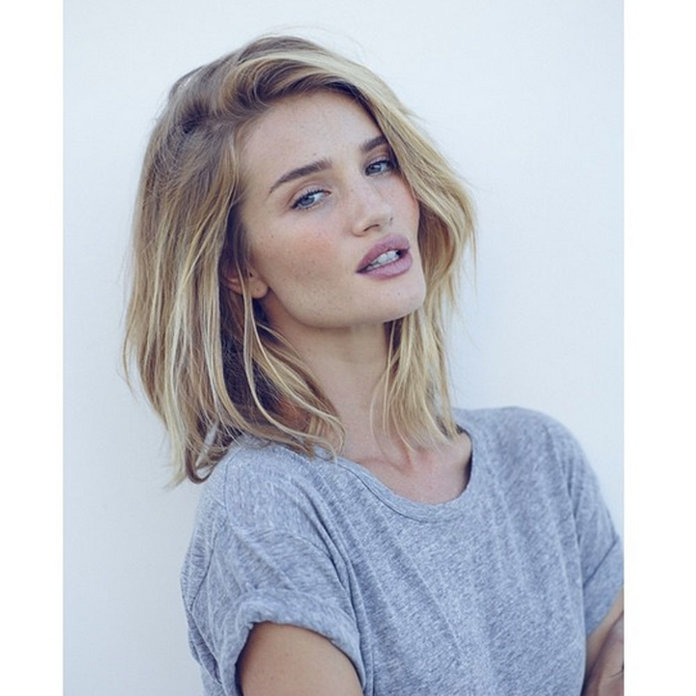 What To Ask For At The Hairdresser's To Get Rosie Huntington-Whiteley's New Hair