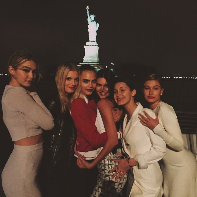 Kendall, Cara And Chanel Show Us How A Girls Night Out Is REALLY Done...