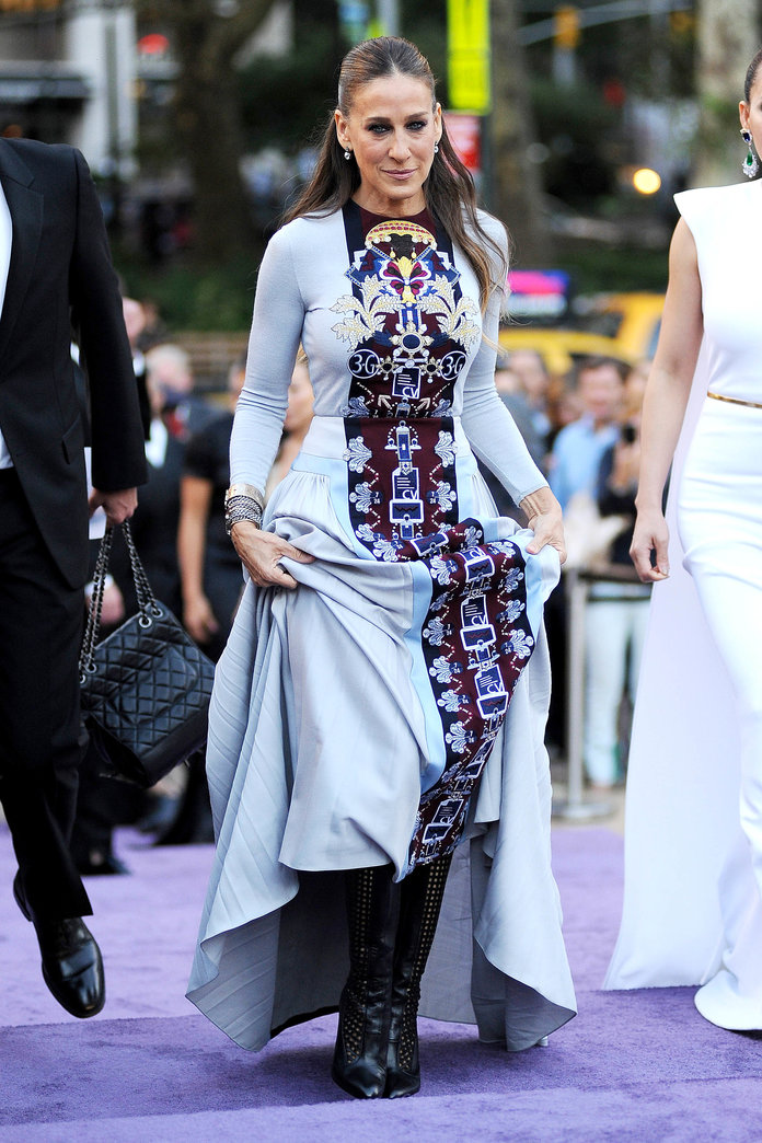 Sarah Jessica Parker, This Is Your Life In Shoes. And Very Pretty Shoes At That...