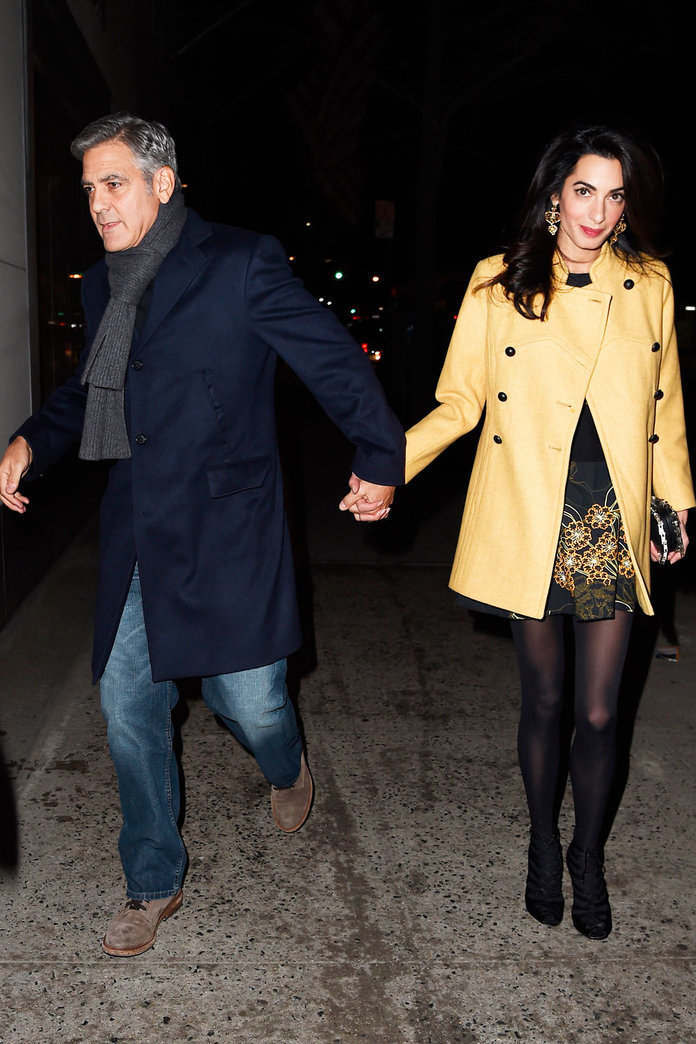 Amal Clooney's Date Night Look Is Nothing Short Of Perfection