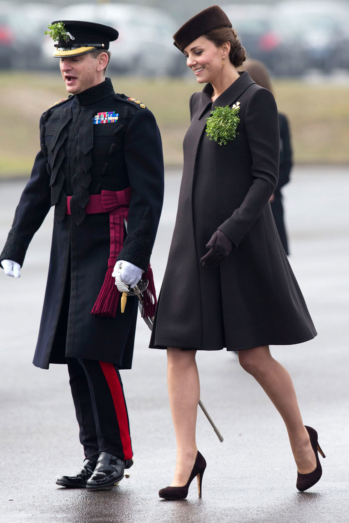 Kate Middleton Breaks With Her St Patrick's Day Sartorial Tradition