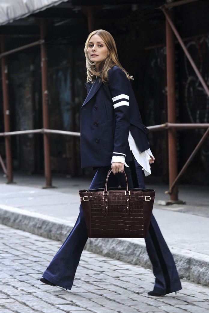 Olivia Palermo's Aspinal Of London Handbag Is FINALLY Here And It's A Beauty