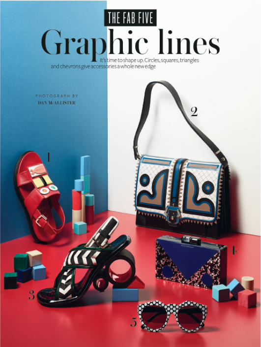 Add Some Excitement To Your New Season Wardrobe With Bold And Graphic Accessories