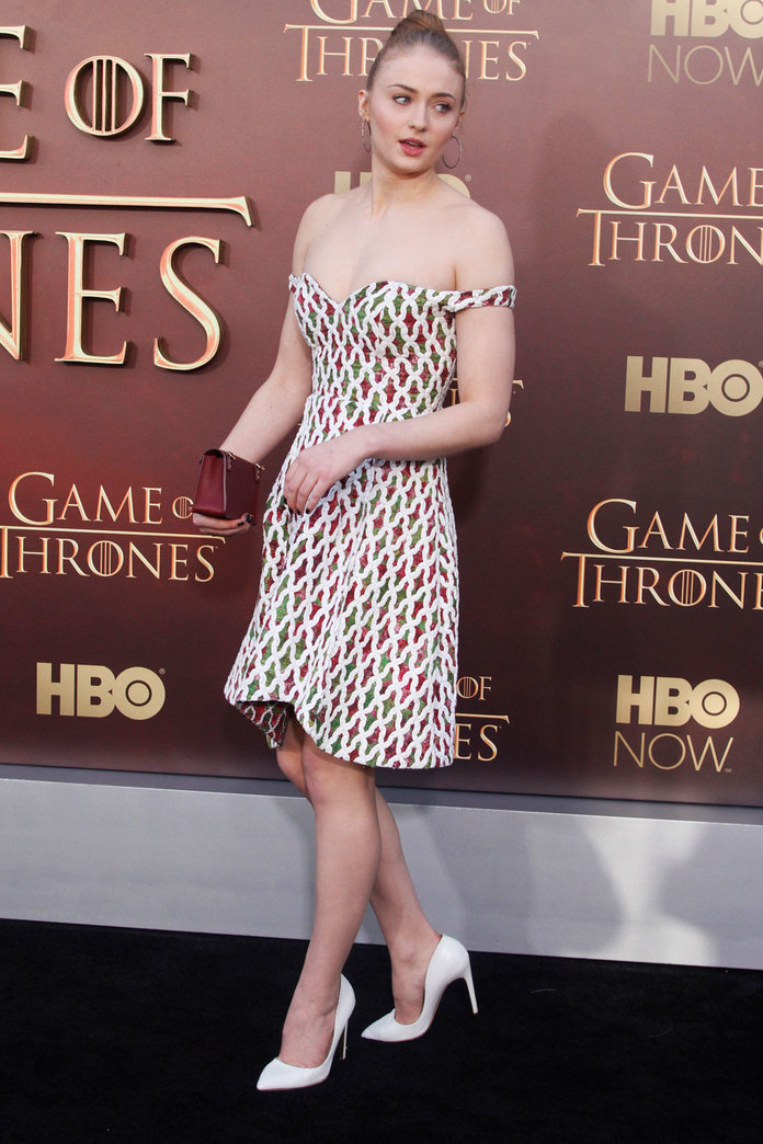 Sophie Turner Wows On The Game Of Thrones Red Carpet Again – Here's How To Get Her Look
