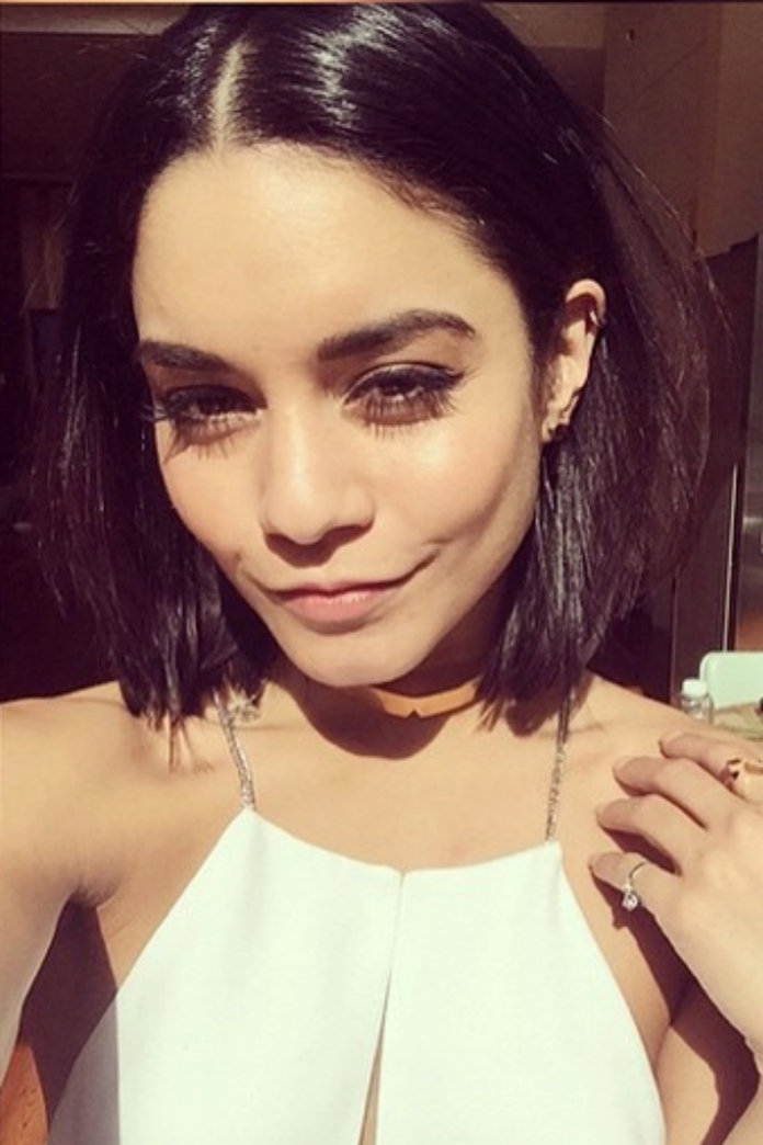 Vanessa Hudgens' New Short 'Do Is The Perfect Face-Framing Cut
