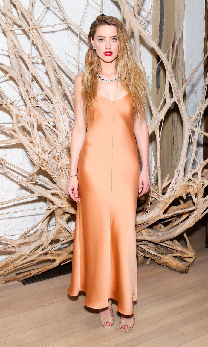 Amber Heard Takes On The Tricky Slip Dress Like A Pro — And You Can Too