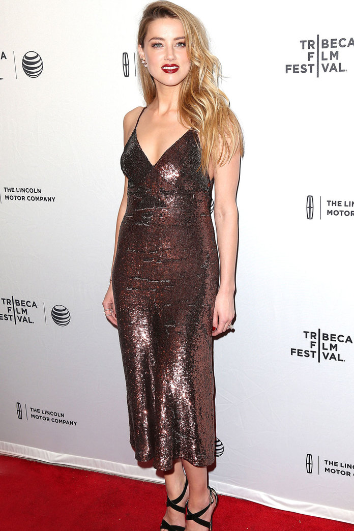 How To Do Summer Sequins Like Amber Heard And Co