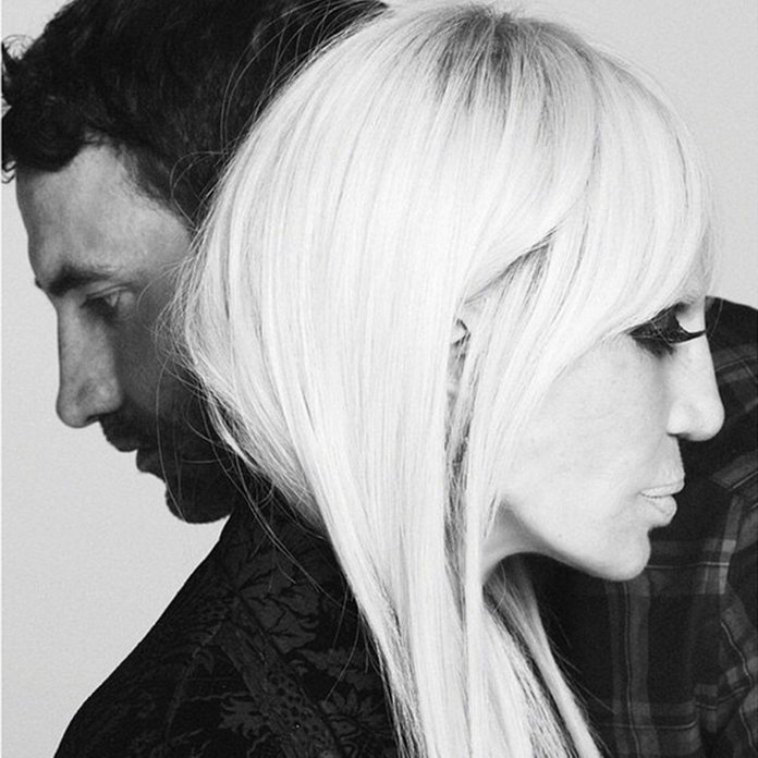 Donatella Versace Is The 'Ultimate Icon' As The New Face Of Givenchy