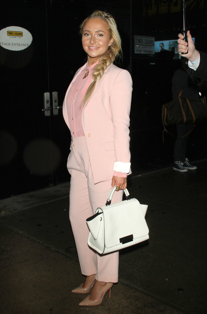 Hayden Panettiere and Jessica Alba Prove You Need WAY More Pink In Your Wardrobe