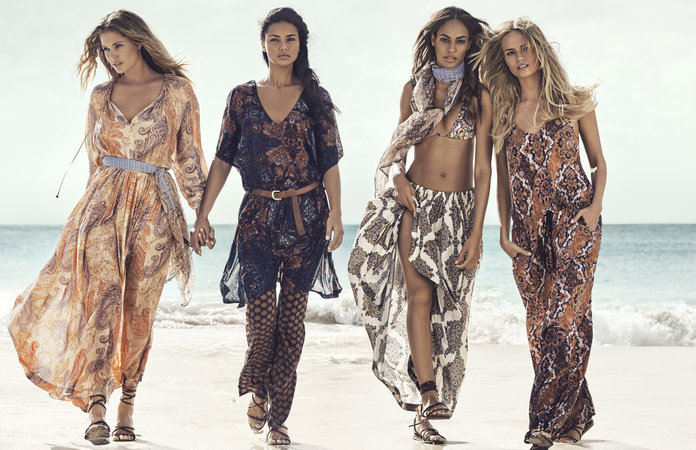 H&M Taps The Ultimate Supermodel Dream Team For Its Summer Campaign