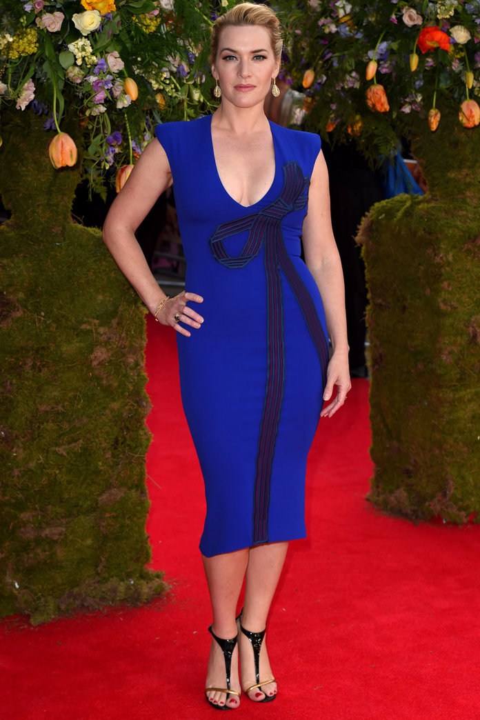Kate Winslet Returns To The Red Carpet In Bodycon Stella McCartney