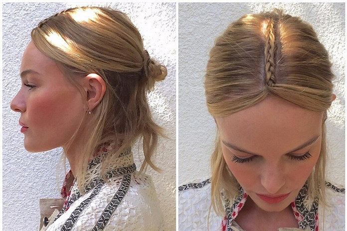 How To Get Kate Bosworth's Amazing Unicorn Braid