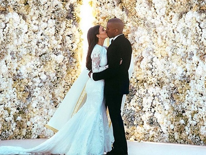 Is This What Kim Kardashian\'s Second Wedding Dress Will Look Like ...