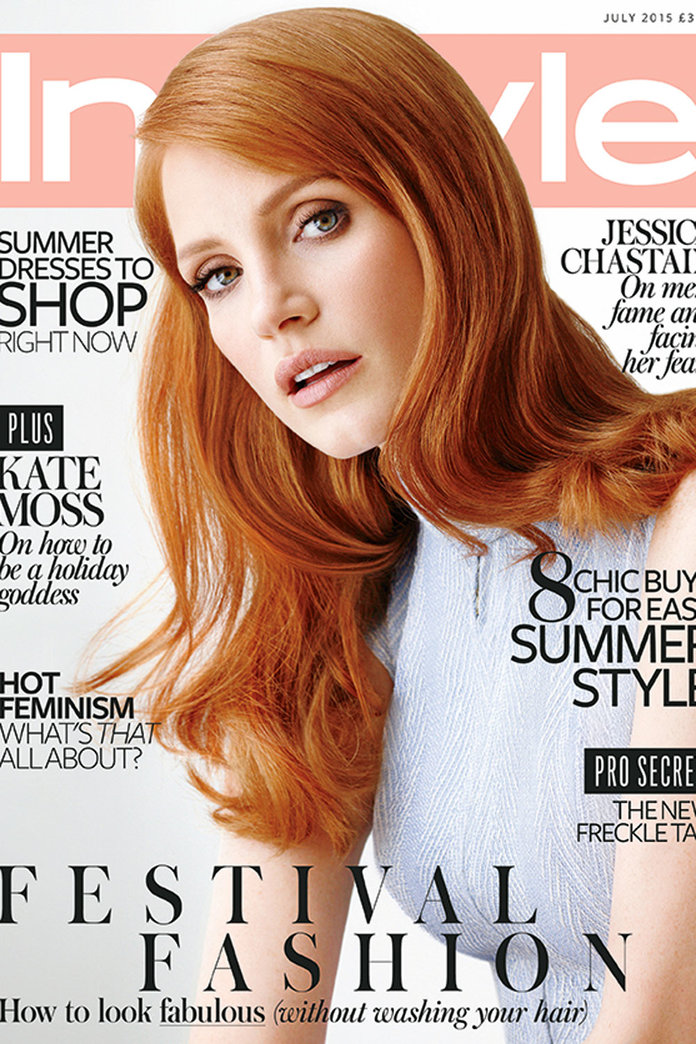 6 Things We Learned About Our July Cover Star, Jessica Chastain