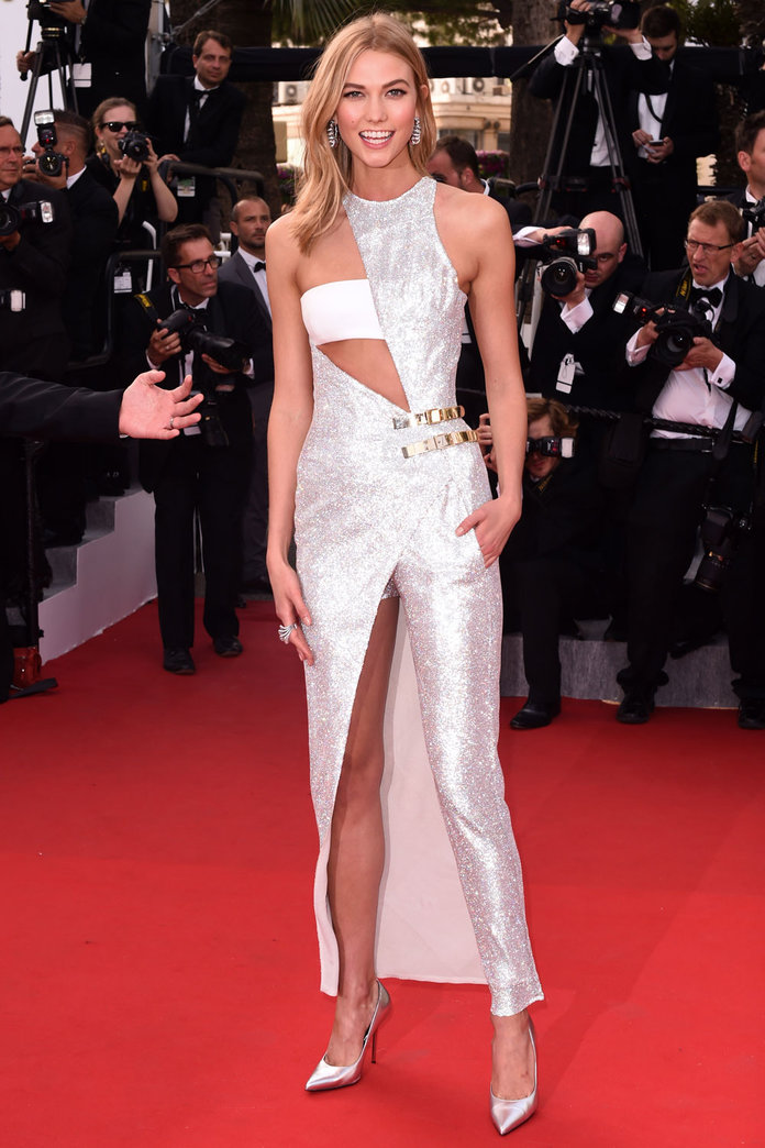 Karlie Kloss Steals The Cannes Red Carpet In Couture Valentino