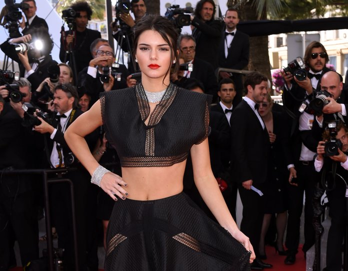 Kendall Jenner Has A Major Crop Off On The Cannes Red Carpet