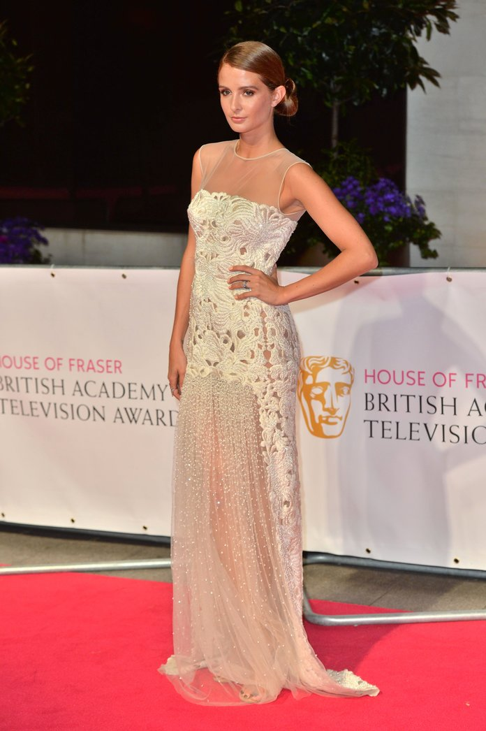How Millie Mackintosh And Pixie Lott Got Ready For The TV BAFTA Awards