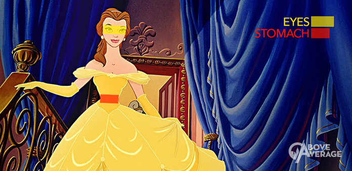 Everyone Is Going Crazy About The Disney Princesses' Eye-To-Stomach Ratio