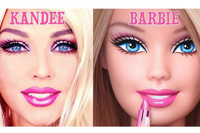 This Make Up Artist Transforms Herself Into Barbie And We Can't Tell Who's Who