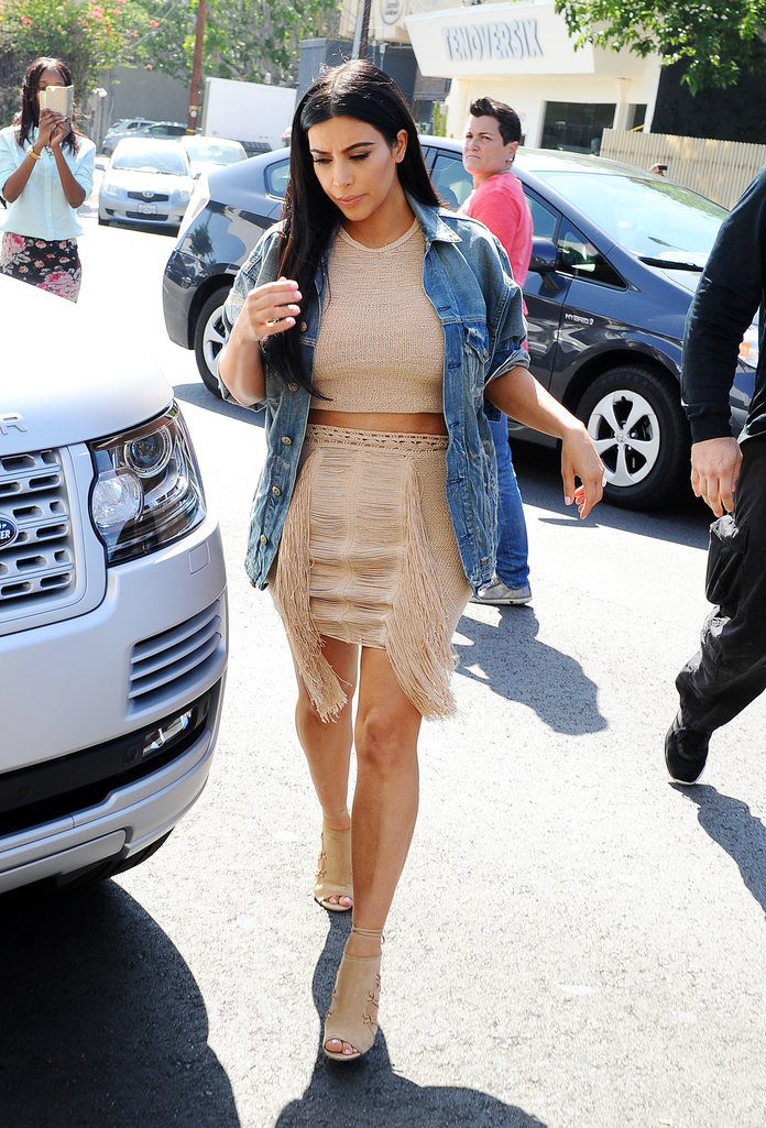 Kim Kardashian Gets A Major Fashion Schooling From An Iconic Designer Label