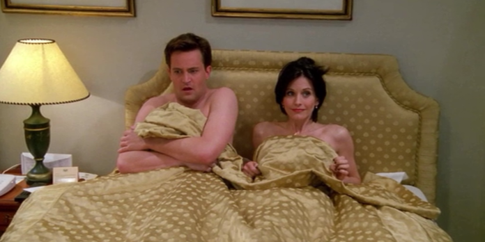 Monica & Chandler Were Never Supposed To Go The Distance In 'Friends'