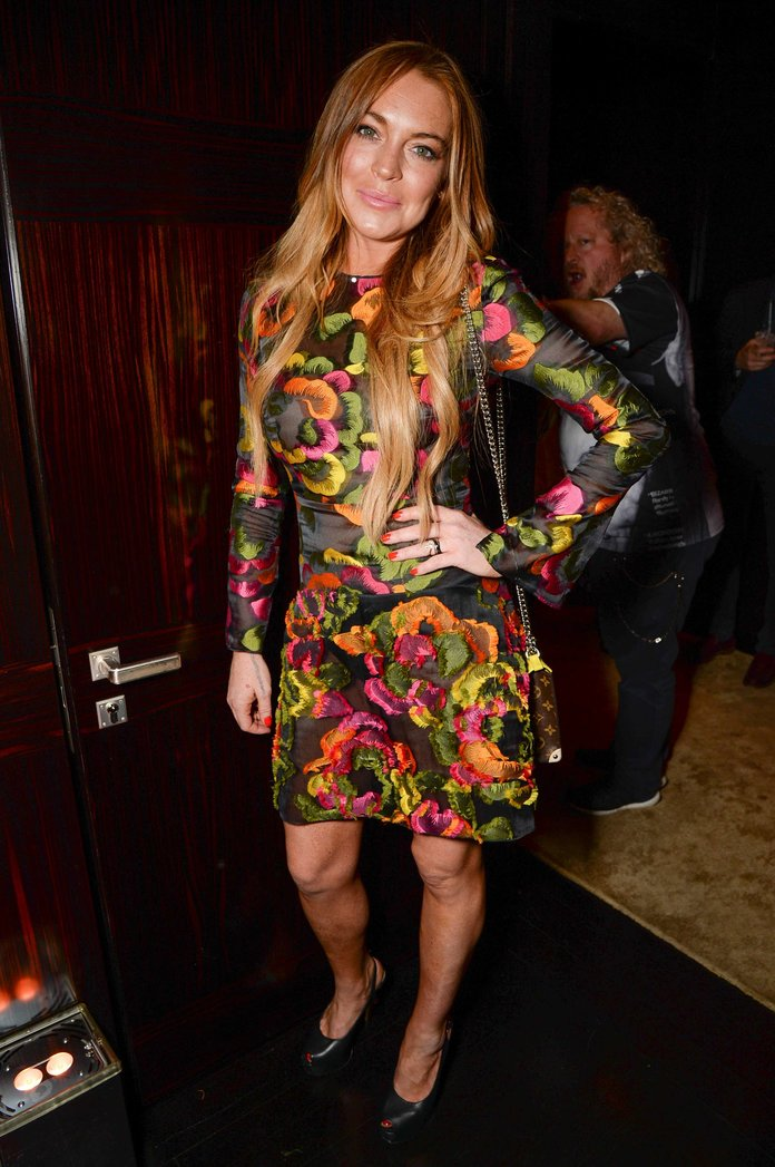 Lindsay Lohan Liked Our Shoes And Other Things That Happened At The Louis Vuitton Party