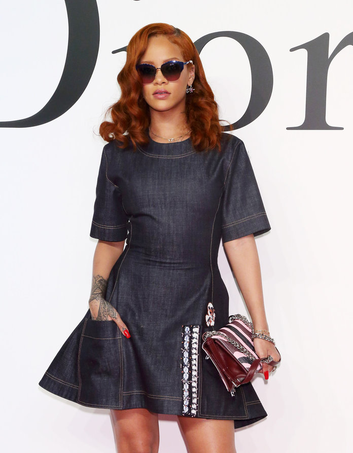 Rihanna's Wild Night Out Ends With Her Adopting A Puppy, Because Of Course