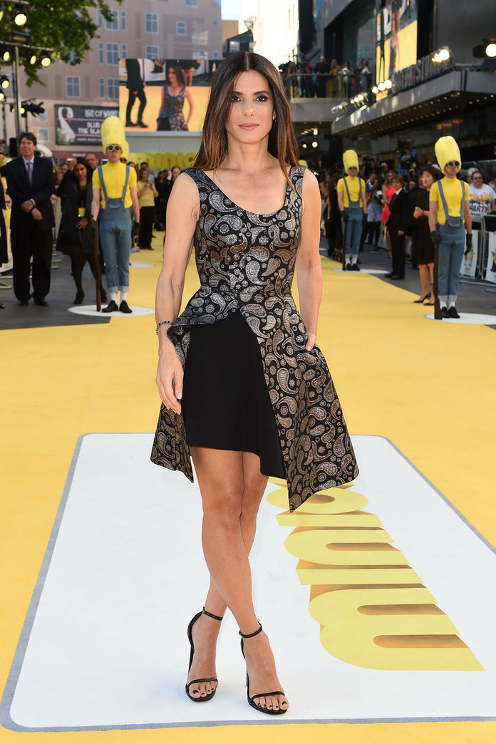 Sandra Bullock Makes Her First Red Carpet Appearance In Over A Year