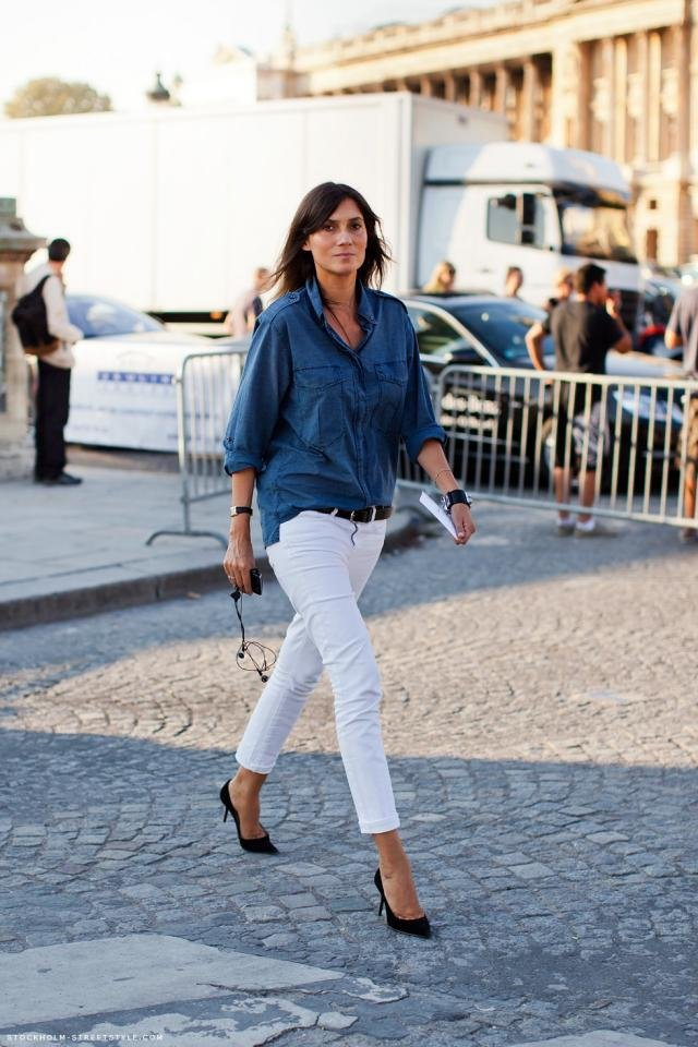 How To Wear White Jeans Without Looking Like A Real Housewife Of Beverly Hills