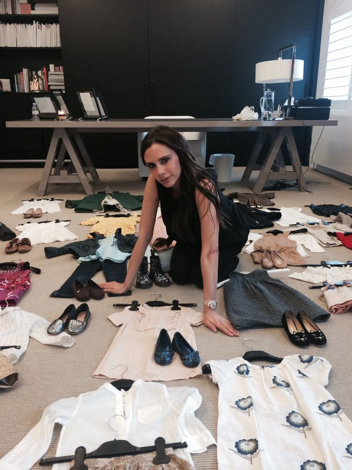 Victoria Beckham Is Doing Something AMAZING With Harper's Hand-Me-Downs