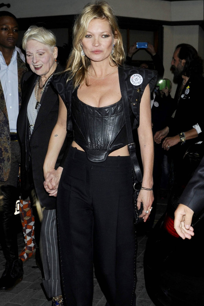 Kate Moss Is Back On The Town After THAT EasyJet Incident