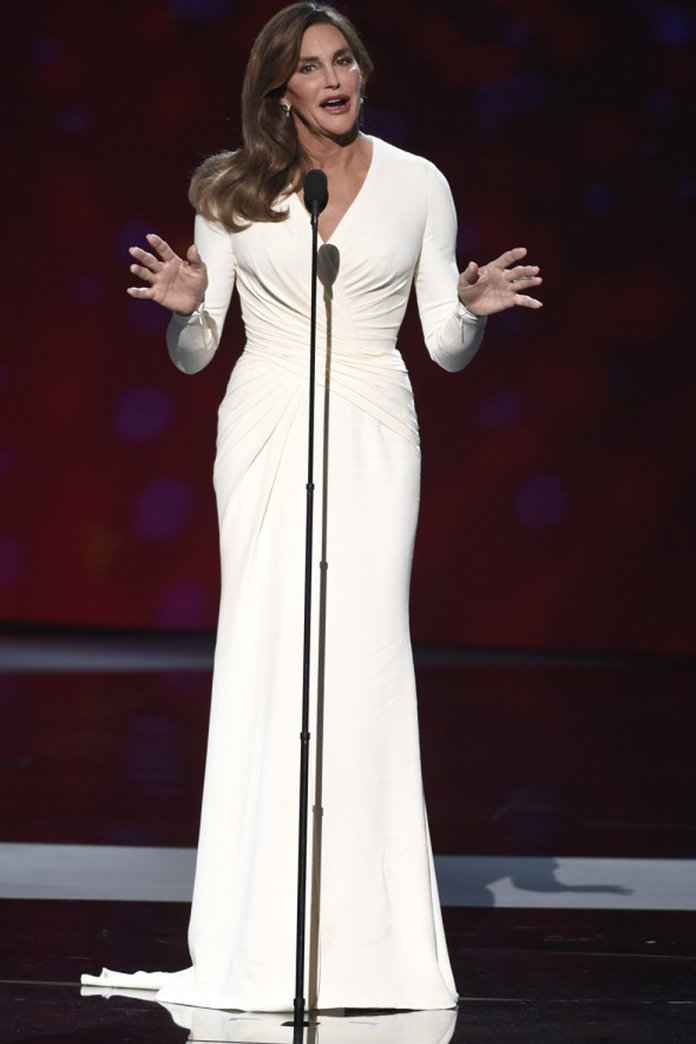 Angelina Jolie's Stylist On Why She Chose *That* ESPYs Dress For Caitlyn Jenner
