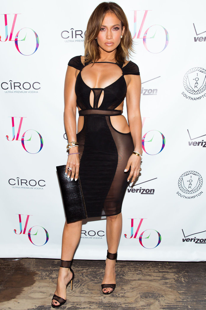 Jennifer Lopez Kills It In Sexy Cut Outs For Her 46th Birthday Bash