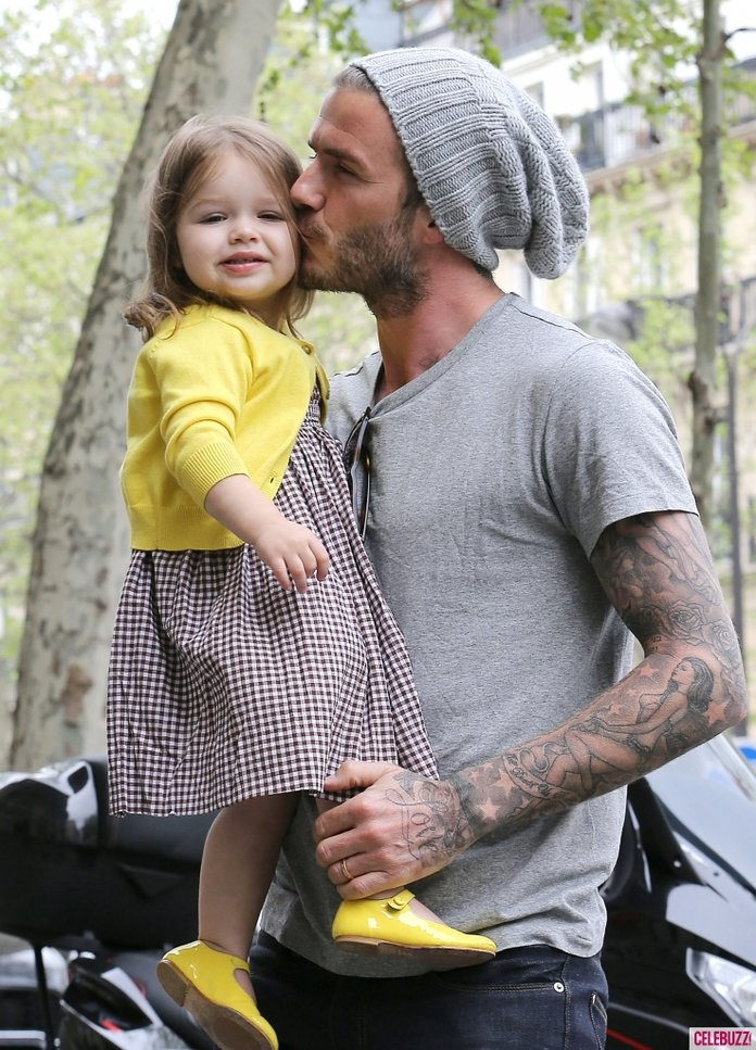 David Beckham's Adorable Tribute To His Daughter Harper Will Make You Swoon