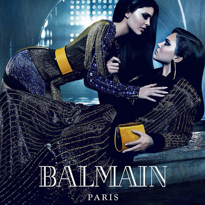 Kendall And Kylie Jenner And The Sibling Fest Balmain Campaign You've GOT To See