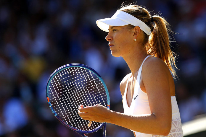 Maria Sharapova On What It Takes To Get A Body Like A Tennis Pro