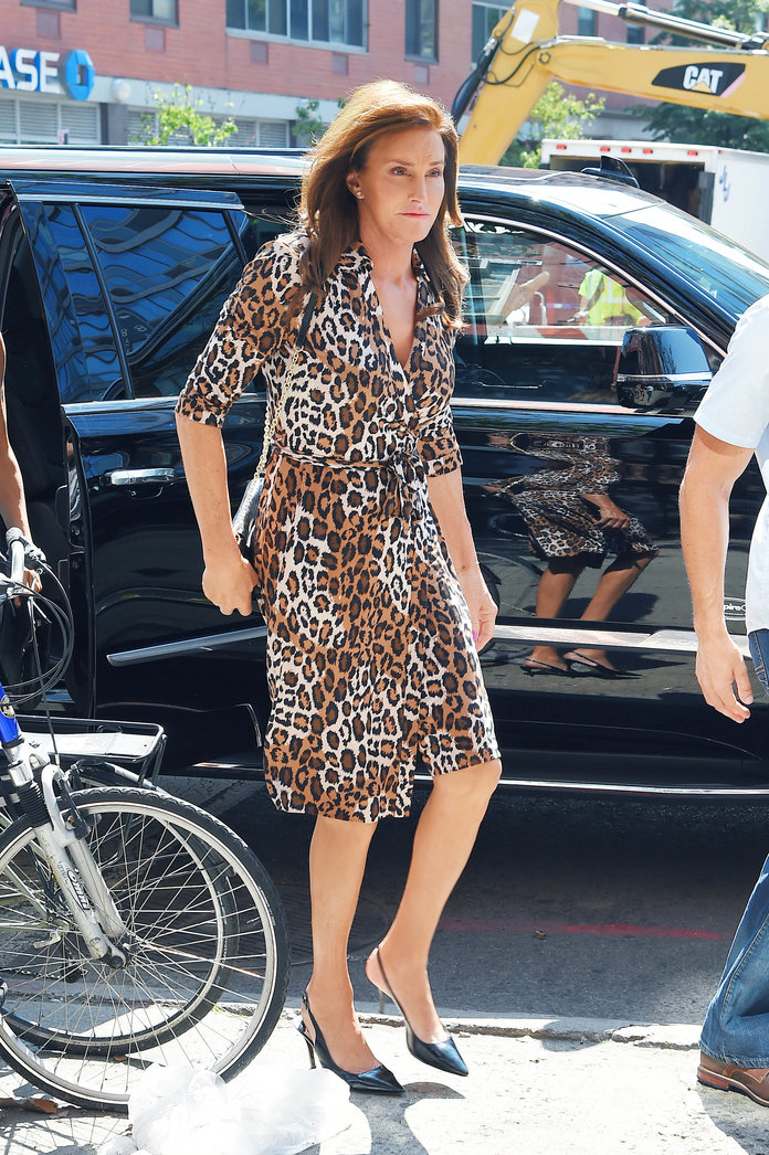 Caitlyn Jenner Styles Out Three Killer Looks In One Day Like It's NBD