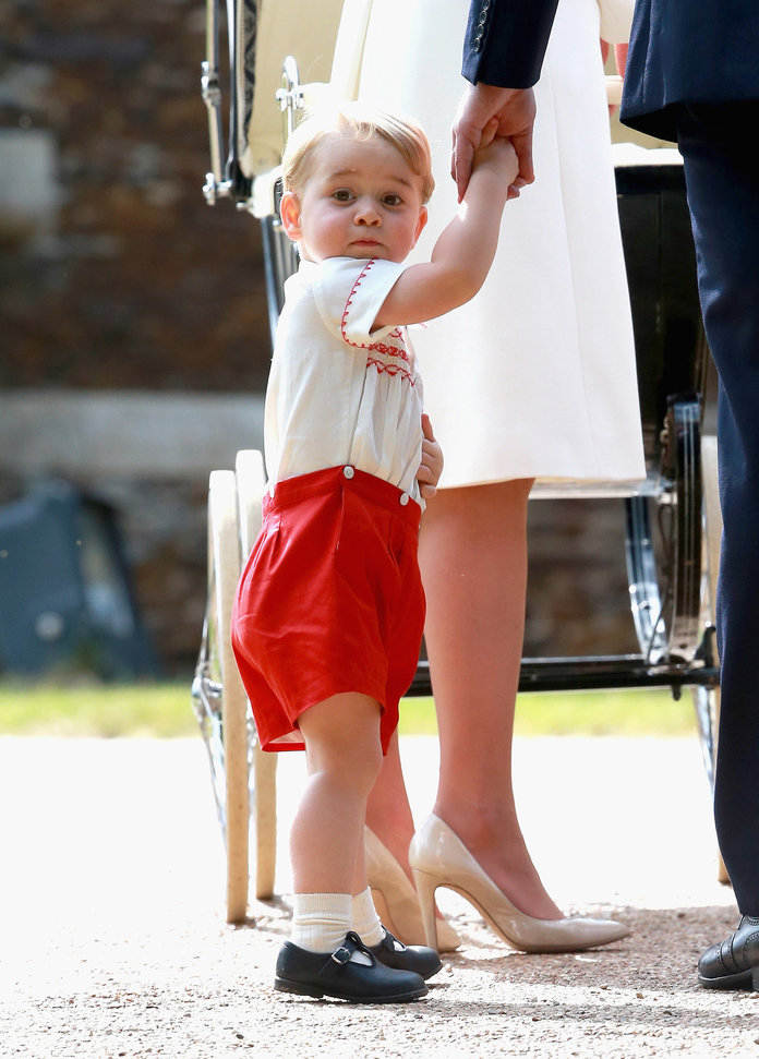 Prince George Is *Basically* Responsible For The New Kardashian Clothing Line
