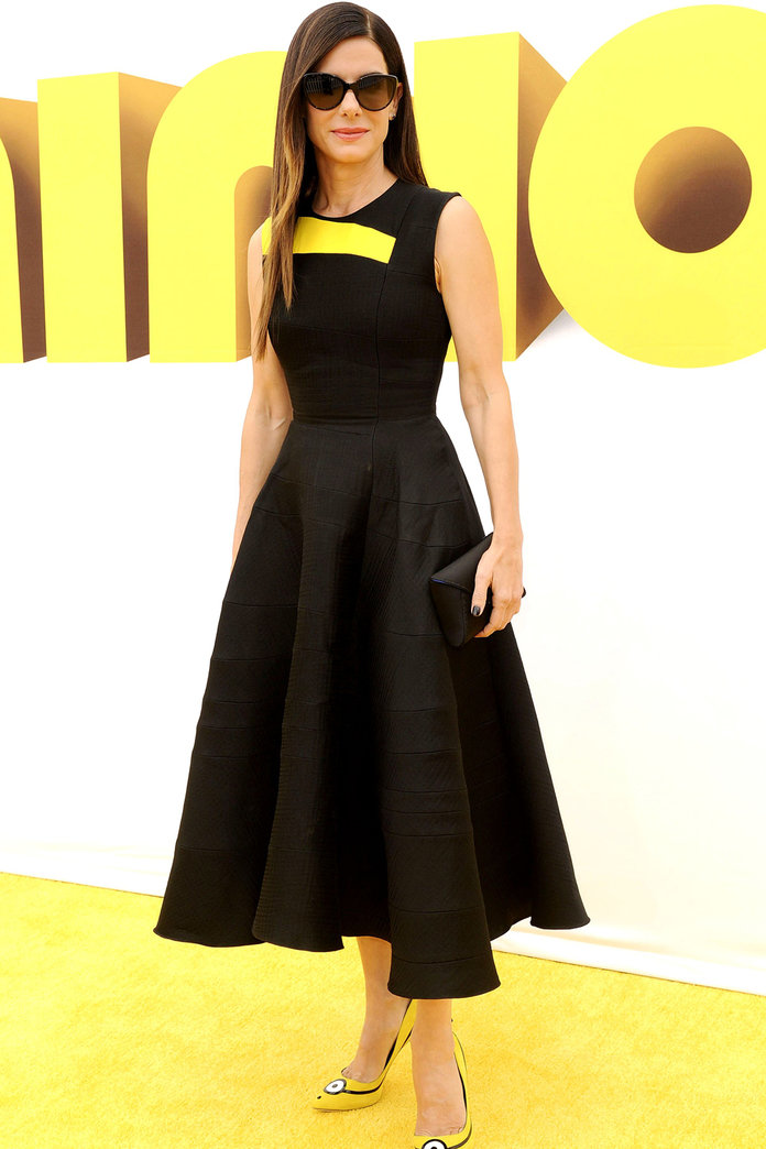 Sandra Bullock's Minion Heels Have Raised How Much For Charity?!